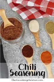 homemade chili seasoning keto cooking
