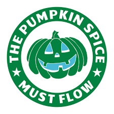 The Pumpkin Spice Must Flow Decal
