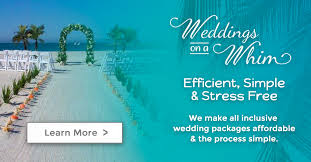 st pete beach weddings weddings on a