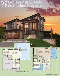 7 modern house plans samples modern