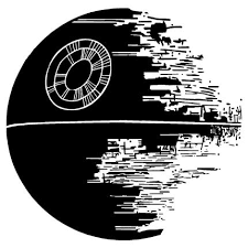 Star Wars Death Star Vinyl Wall Art Decal