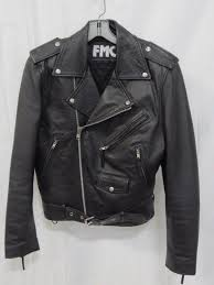 black leather motorcycle jacket size 36