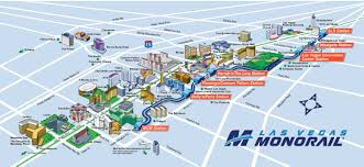 las vegas monorail map see the