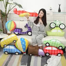 Koodykids Car Bus Cushion Decor Nursery Kids Room Decor Balloon Decorative Cushion Pillow Baby Boy Kids Nursery Decor Color Car 1