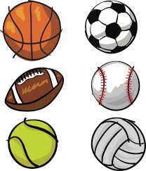 Sports Balls Variety Set Printed Fabric Repositionable Wall Decals