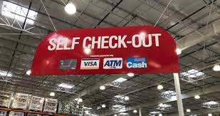 costco installs self service checkouts