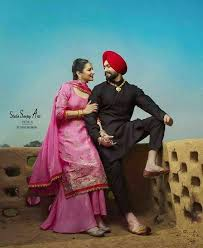 love punjabi couple wallpaper nosirix