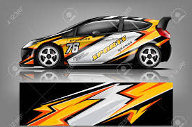 Car Decal Wrap Design Vector Graphic Abstract Stripe Racing Royalty Free Cliparts Vectors And Stock Illustration Image 121082102