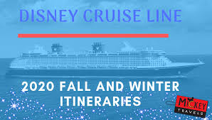 disney cruise line announces fall and