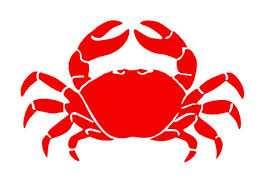Crab Vinyl Decal Car Sticker Laptop Nautical Decal Permanent Stickers Vinyl Decals Nautical Decals Vinyl