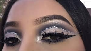 silver glitter cut crease jocy reyes