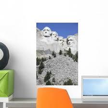 Mount Rushmore National Memorial Wall Decal Design 2 Wallmonkeys Com