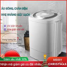 Mua Máy giặt 7kg máy màu xám máy giặt mini tiện dụng dung tích lớn tiết  kiệm điện TopOne2020 giá rẻ 1.433.550₫