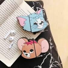 3d cute cartoon tom and jerry earphone