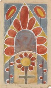 Thelma Johnson Streat | Untitled (Abstract Chapel Flower) (Circa ...