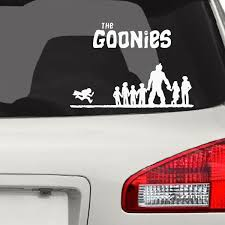 The Goonies Car Decal Sports Teacher With Children Running In The Competition Vinyl Car Stickers Waterproof Art Mural Fa027 Car Stickers Aliexpress