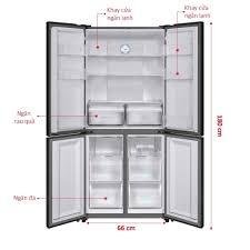 Tủ lạnh AQUA AQR-IG525AM/GB – 516 Lít – 4 cánh Inverter – Điện Máy Sông Đà