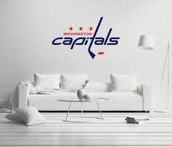 Washington Capitals Logo Wall Decal Egraphicstore