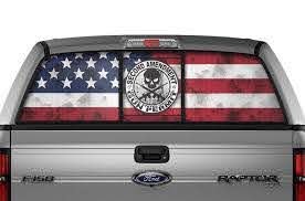 Ford F150 Rear Window Decals 2nd Amendment Racerx Customs Truck Graphics Grilles And Accessories