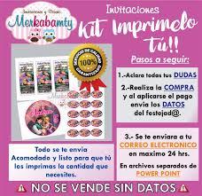 Invitacion De Cumpleanos Enredados Kit Imprimelo Tu 69 00 En