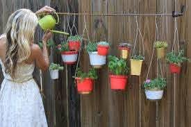 Transformed Gardening Hang Ups Hanging Garden Hanging Plants Hanging Planters