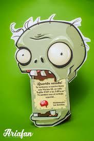 Plantas Vs Zombies Plantas Vs Zombies Cumpleanos Fiestas De
