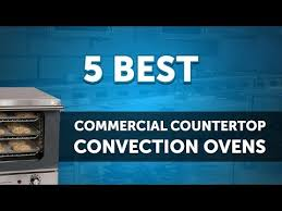 commercial countertop convection ovens