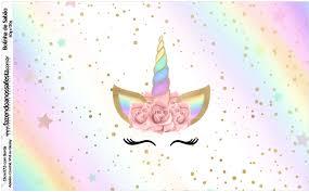 6 Invitaciones Baby Shower De Unicornio