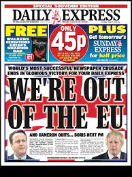 Front Page: Daily Express (June 25 ...