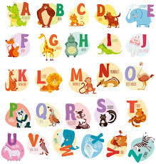 Amazon Com Wall Decals Kids Animal Alphabet Abc Baby Wall Sticker Removable Vinyl Mural Peel Stick Large Educational Letters For Bedrooms Playrooms Baby Nursery Wall Decor Art Arts Crafts Sewing