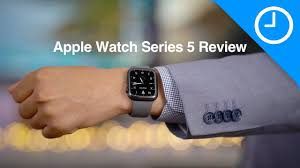 Apple Watch Series 5 video review - the always-on display is a key feature