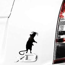Amazon Com Standing Rat Decal Pet Mouse Laptop Sticker Rodent Tablet Decal 4 H X 3 W 594 Handmade