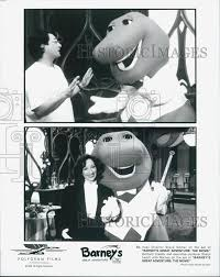"1998 Foto de prensa ""Barney's Great Adventure"" director Steve Gomer, pr  Sheryl Leach | eBay"