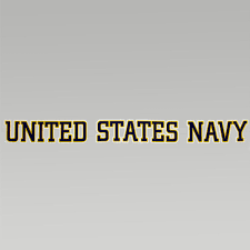 United States Navy Strip Decal