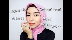 make up natural untuk sehari hari
