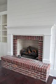 husband loves our ugly brick fireplace