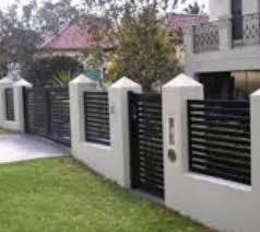 Modern Fence Designs Metal Acnn Decor