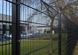 Double Rod Welded Wire Fence Panels Height 1600mm Metal Wire Mesh Fence
