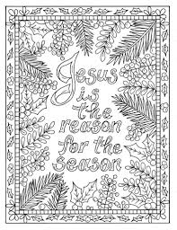 11 Most Superlative Christian Christmas Coloring Pages For