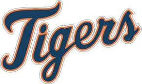 Detroit Tigers Vinyl Decals