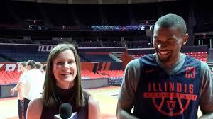 Illinois Basketball Aaron Jordan Practice Interview | 12/12/17 - YouTube