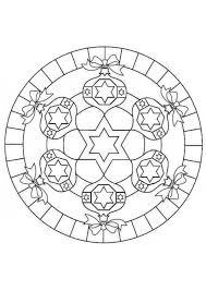 Kleurplaat Kerstmis Mandala Gratis Kleurplaten Om Te Printen