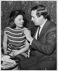 Ian Hendry + Janet Munro - Engagement Party, Wedding Pictures + News Reel  Film Footage [1963] -