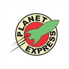 Planet Express Logo Window Bumper Laptop Window Decal Sticker Etsy