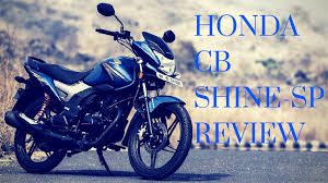 honda cb shine sp review in