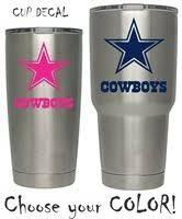 Dallas Cowboys Sticker Football Decal For Nfl Yeti Dall