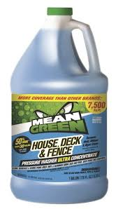 Mean Green House Deck Fence Pressure Washer Concentrate Gallon At Menards