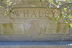 Ida Barnes Whaley (1881-1925) - Find A Grave Memorial