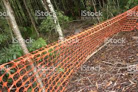 Orange Safety Mesh Fencing Stock Photo Download Image Now Istock