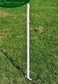 Electric Fencing Electric Fence Posts 20 X 3ft White Or Green